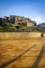 Estat actual de l'aparcament del Castell de Segur