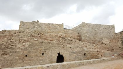 Vista exterior del Castell de Segur
